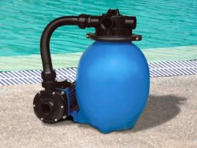 Filtration sable 12 pvc 4 v 4 m3 h 0 2 cv 21927 for Piscine cristaline