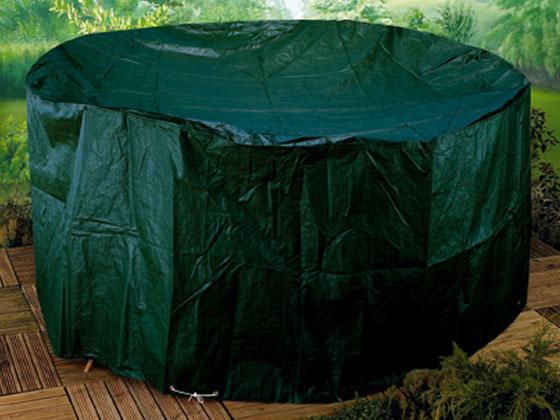 Housse De Protection Salon De Jardin Rond ~ Housse premium pour salon de jardin  rond  Ø 250 x 89 cm 22496