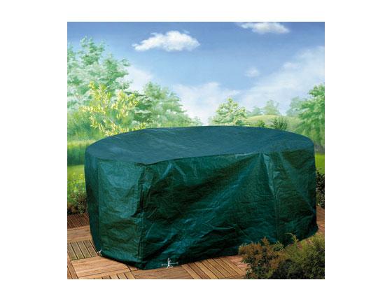 Housse premium pour salon de jardin - Rectangulaire - 245 x 120 x 80 cm