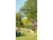 """Arche """"Garden arch"""" noire - Extra large - 1.9 x 1.5 m"""