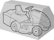 Housse de protection pour autoportée 165 x 110 x 100 cm.