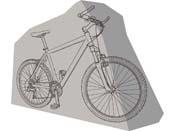 Housse de protection pour vélo 186 x 85 cm.