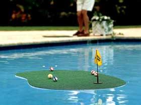 jeux piscine set de golf pour piscine aquagolf 23676. Black Bedroom Furniture Sets. Home Design Ideas