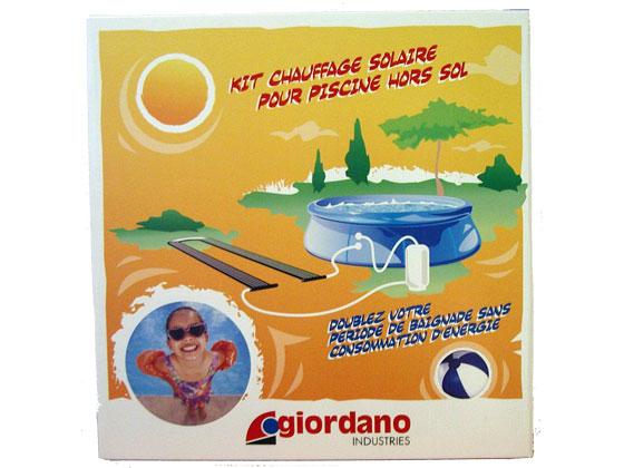 Chauffage piscine kit chauffage solaire pour piscine for Chauffage piscine giordano