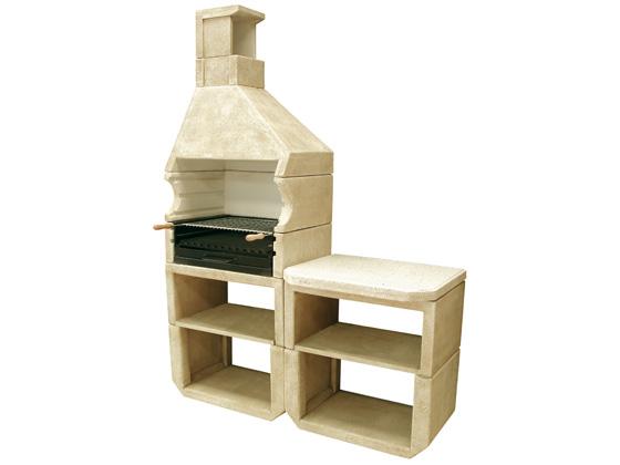 barbecue pierre tebas 24767. Black Bedroom Furniture Sets. Home Design Ideas