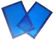 Bâche à bulles Bleu/Bleu 400 Microns forme 1