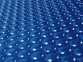 Bâche à bulles pour piscine Hawai - 180µ  - Bleu