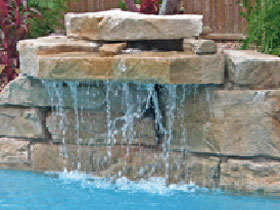 Cascade rocher viente ocho 24785 for Decor rocher piscine