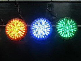 Eclairage - Ampoule LED PAR56 multicolore - 10W, 12V