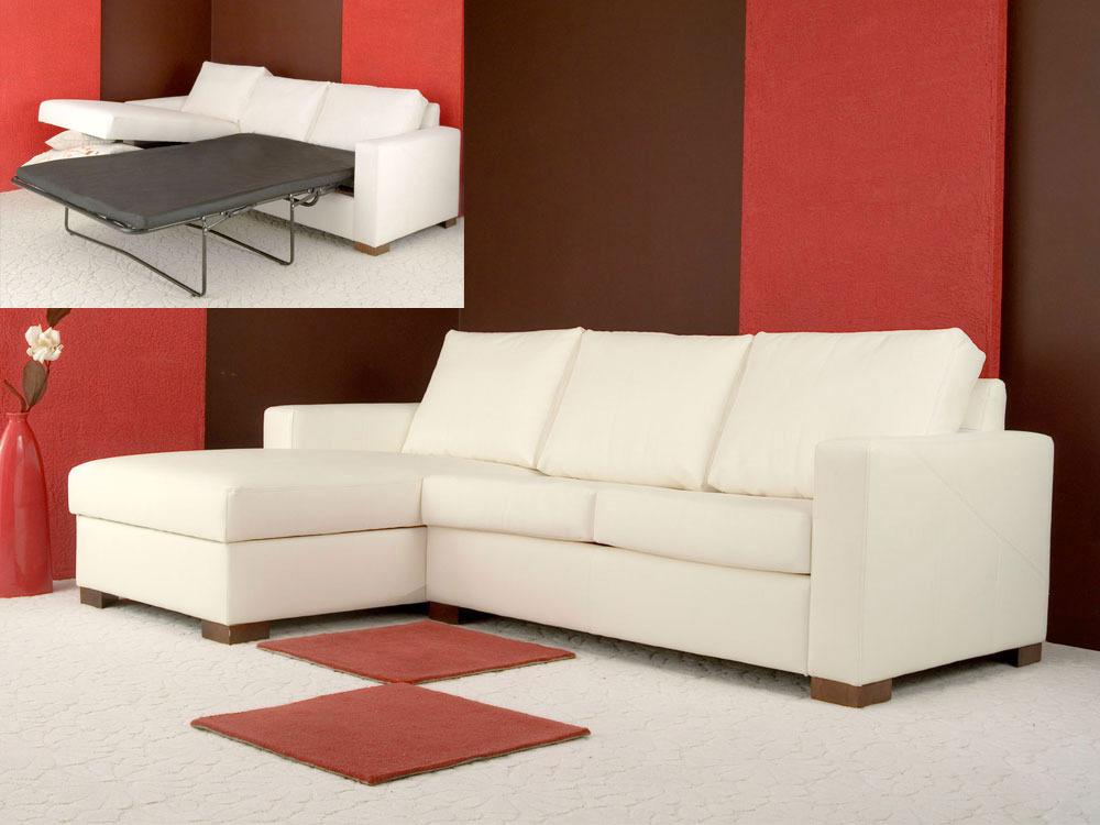 Canapé d'angle convertible tissu Tam - 4/5 places - Angle gauche
