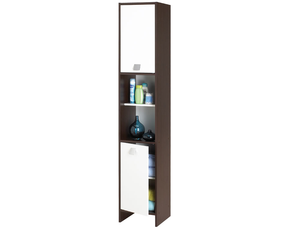 meuble de salle de bain colonne futuna 2 2 portes 39636. Black Bedroom Furniture Sets. Home Design Ideas