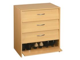 meuble chaussures 39 39 osiris 39 39 meuble en panneaux de particules d cors papier imitation. Black Bedroom Furniture Sets. Home Design Ideas