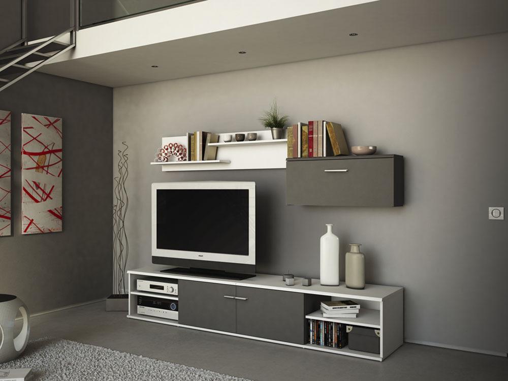 banc tv mural sammlung von design. Black Bedroom Furniture Sets. Home Design Ideas
