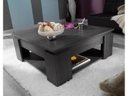 Table basse  knok  - 89 x 89 x 36 cm - Chêne cendré