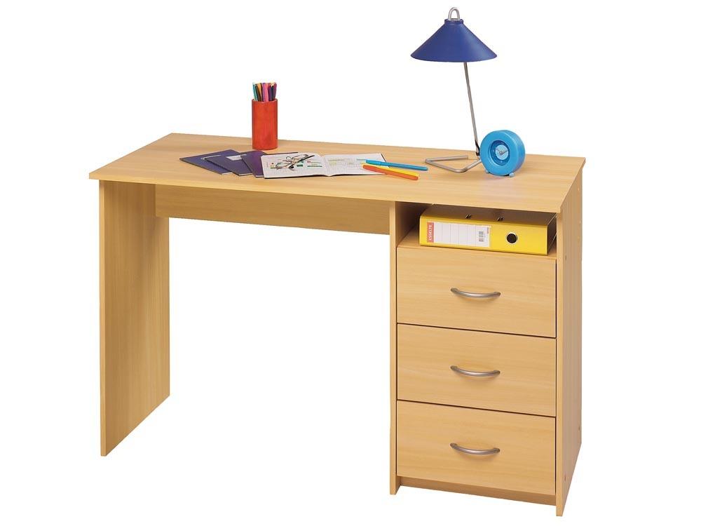 bureau aristote 123 x 50 1 x 76 5 cm h tre essentiel 68638. Black Bedroom Furniture Sets. Home Design Ideas