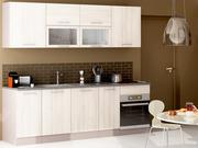 "Pack cuisine 10 meubles ""Chef"" (2.40m) - Acacia"