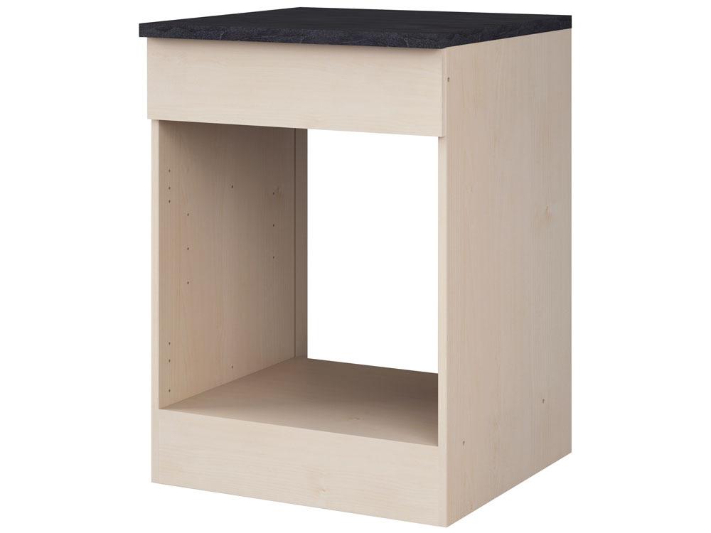 meubles de cuisine meuble bas four paprika rable 60 cm 39852 39853. Black Bedroom Furniture Sets. Home Design Ideas