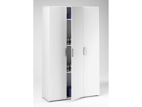 "Armoire ""Cobi"" - 101,4 x 34 x 175 cm - Blanc"
