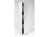 "Armoire ""Cobi"" - 35 x 34 x 175 cm - Blanc"