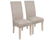 """Lot de 2 chaises """"Sagua"""" - Beige"""