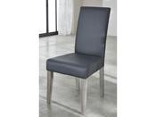"""Lot de 2 chaises de séjour """"Namur"""" - 44,5 x 56,5 x 95 cm - Gris"""