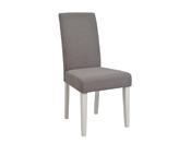 """Lot de 2 chaises de séjour """"Marquise"""" - 45 x 59 x 95,5 cm - Marron clair"""