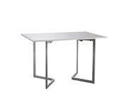 "Table console ""Fold"" - 120 x 40/80 x 77 cm - Blanc"
