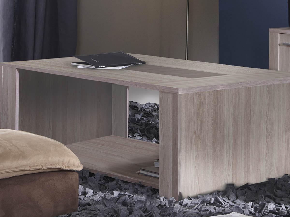 Table basse Duchess - 120 x 64 x 43 cm - Béton clair