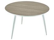 """Table basse """"Block"""" - 60 x 60 x 38 cm - Coloris chêne"""
