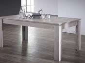 "Table repas ""Segur"" - 170 x 90 x 77 cm - Chêne champagne"