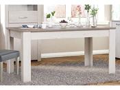 "Table repas allonge ""Marquis"" - 170 x 90 x 77,2 cm - Coloris Pin Andersen- (+ 60 cm)"