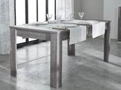 """Table repas """"Namur"""" - 90 x 170 x 77,2 cm - Coloris chêne prata"""