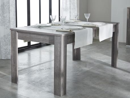 """Table repas """"Namur"""" - 90 x 170 x 77,2 cm - Chêne prata"""