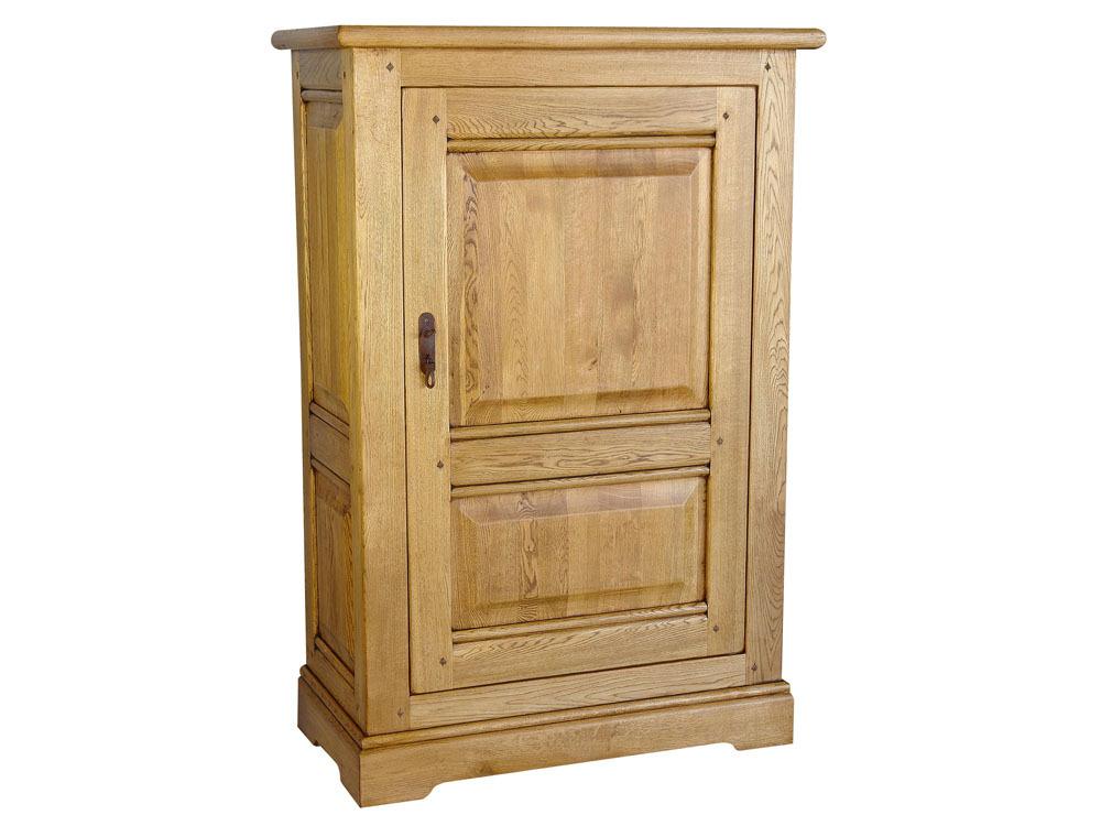 meuble chene massif meuble tv vintage 4 tiroirs en ch ne massif de style meuble t l 2 portes. Black Bedroom Furniture Sets. Home Design Ideas