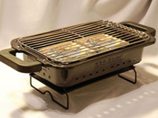 "Barbecue "" BBQ Docking "" + BBqbrick 4Kg"