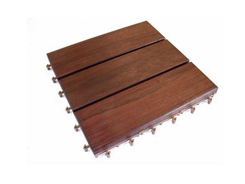120 dalles clipsables en bois ipe m 30 x 30 cm 39190. Black Bedroom Furniture Sets. Home Design Ideas