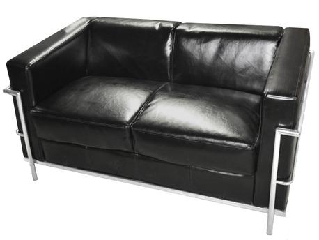 Canapé - 3 places - Coloris Noir