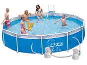 Piscine tubulaire 5.50 x 1.00 m + b�che de protection