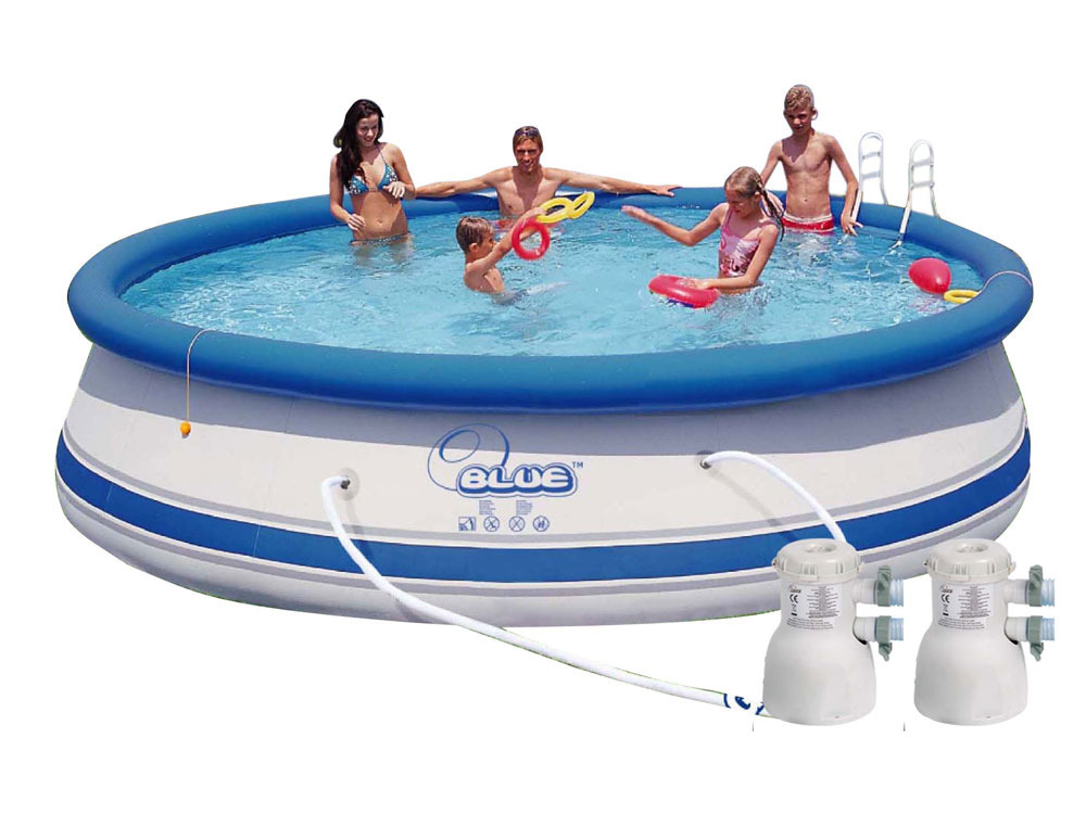 Piscine autoportante deluxe x m b che de for Protection platre piscine
