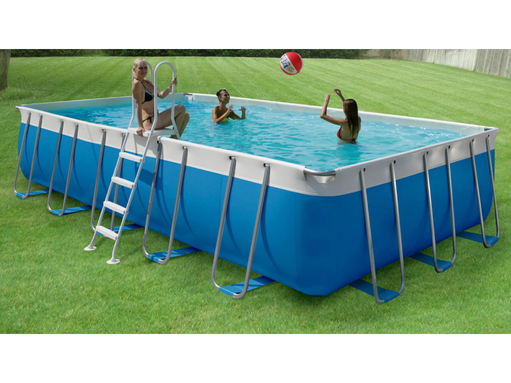 Piscine auto portante piscine intex ellipse x x m achat for Piscine portante