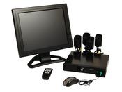 Kit multivision 4 caméras de surveillance
