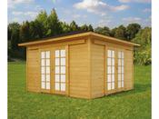 "Abri jardin ""Pavilion"" - 16.97 m² - 4.11 x 4.11 x 2.68 m - 28 mm"