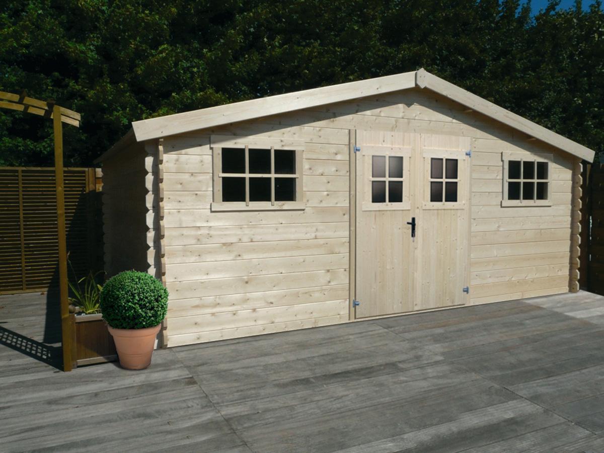 abris de jardin 20m2 lounge v2 abri de jardin bois 8 15 m 28mm achat vues abris de jardin. Black Bedroom Furniture Sets. Home Design Ideas