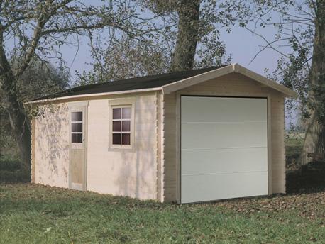 Garage - 22.25 m² - 5.38 x 3.58 x 2.67 m - 28 mm