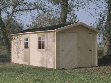 Garage - 22.25 m² - 5.45 x 3.58 x 2.67 m - 28 mm