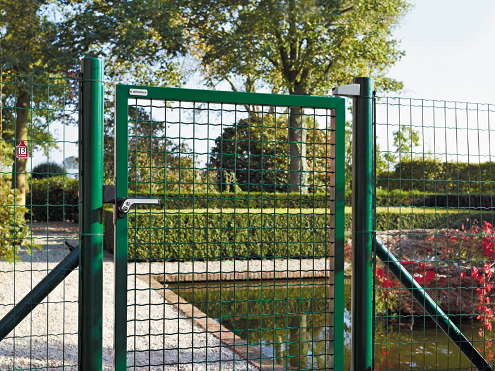 Portillon de jardin en fer castorama meilleures id es for Portillon en fer vert