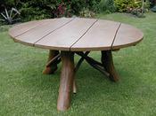 Table de jardin - diamètre : 100 cm