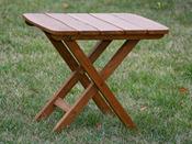 "Table de jardin ""Western"" - L 40 x P 60 x H 50 cm"