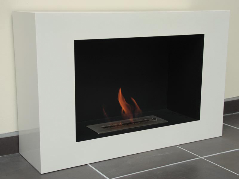 chemin e bio thanol modern screen noir 34935 38138. Black Bedroom Furniture Sets. Home Design Ideas