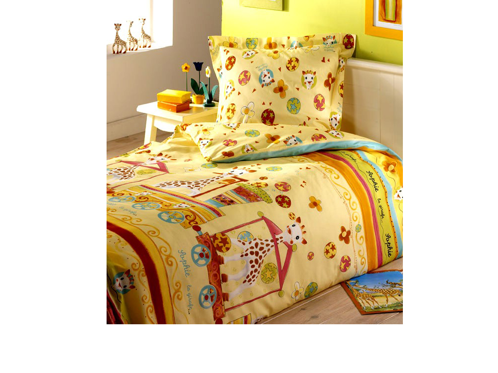 housse de couette girafe maison design. Black Bedroom Furniture Sets. Home Design Ideas